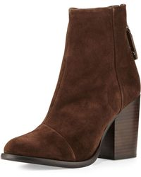 Rag & Bone   Ashby Suede Ankle Boot   Lyst