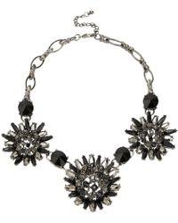 Cc Statement Floral Necklace - Lyst