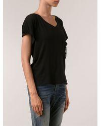 Wildfox Romeo Pocket Tshirt - Lyst