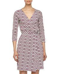 Diane von Furstenberg New Julian Two Wrap Mini Dress - Lyst