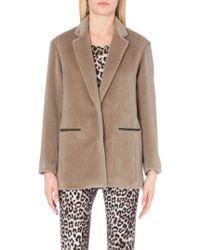 Rag & Bone Sigrid Alpaca And Wool-Blend Coat - For Women - Brown