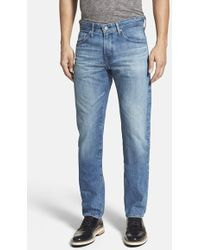 AG Adriano Goldschmied 'Nomad' Modern Slim Jeans - Lyst