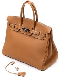 Hermès HermãˆS Gold Handbag brown - Lyst