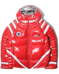 Undercover - Red Down Astronaut Puffer Jacket - Lyst