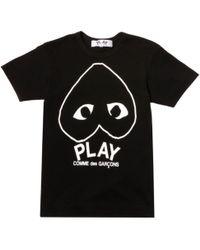 Play Comme des Garçons - Play T Shirt - Lyst