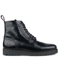 Fred Perry - Northgate Boot Leather - Lyst