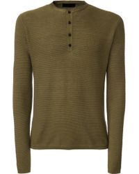 Iris Von Arnim Sweater Bono khaki - Lyst