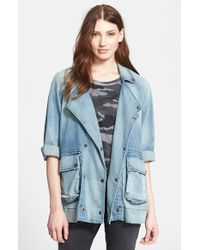 Current/Elliott 'The Infantry' Denim Jacket - Lyst