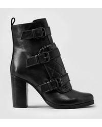 AllSaints Monalisa Boot brown - Lyst