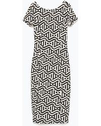 Zara Dress With Low-Cut Back - Lyst