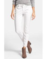 Eileen Fisher Petite Women'S Garment Dyed Stretch Skinny Jeans - Lyst