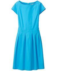 Uniqlo Women Crisp Cotton Short Sleeve Dress - Lyst