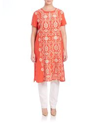 Johnny Was | Keira Button-front Tunic | Lyst