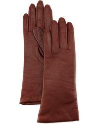 Grandoe - Leather Tech Glove Copper - Lyst