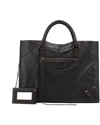 Balenciaga Classic Monday Satchel Bag - Lyst
