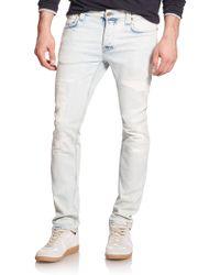 Nudie Jeans Grim Tim Straight Slim Jeans - Lyst