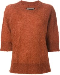 By Malene Birger Textured Knit Sweater - Lyst