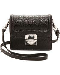 Marc By Marc Jacobs Top Schooly Jax Cross Body Bag  Black - Lyst