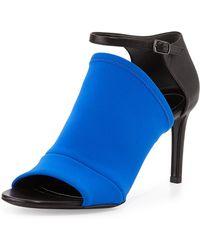 Balenciaga Neoprene Mid Heel Glove Sandal - Lyst