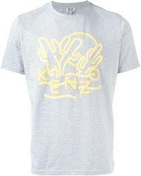 KENZO | Dancing Cactus T-shirt | Lyst