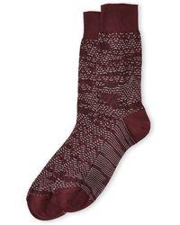 Missoni Zigzag Print Socks - Lyst