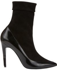 Pierre Hardy Pointed Toe Ankle Boot - Lyst