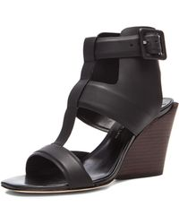 10 Crosby Derek Lam Campbell Coated Leather Sandals - Lyst
