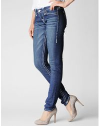 True Religion Stella Skinny Super T Womens Jean - Lyst