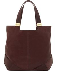 Vince Camuto Purple Kyle Tote - Lyst