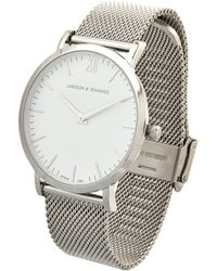 Larsson & Jennings Cm Polished-Steel Watch - Metallic