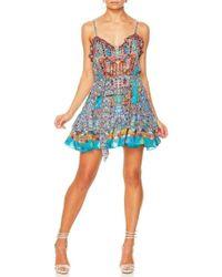 Camilla - Canvas Of Colour Frill Dress - Lyst