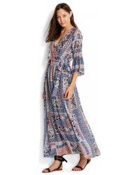 27b8a3db17a Seafolly - Coastal Tribe Maxi Dress - Lyst