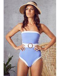 Alexandra Miro Whitney Swimsuit Cornflower - Blue