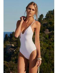 Melissa Odabash Catalina Swimsuit White