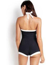 Seafolly - Block Party Boyleg Swimsuit - Lyst
