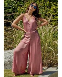 Pilyq - Lizzie Jumpsuit Dusty Rose - Lyst