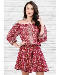 Poupette - Mini Fleur Dress - Lyst