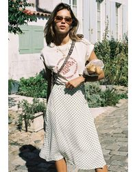 Faithfull The Brand - Racquel Skirt - Lyst
