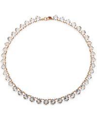 Ca & Lou Debutante Crystal Necklace - Lyst
