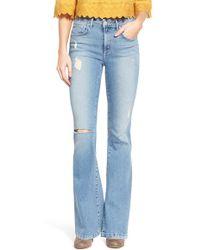 Tularosa - 'penelope' Distressed Flare Leg Jeans - Lyst