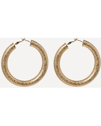 Bebe - Thick Hoop Earrings - Lyst