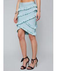 Bebe - Bibiana Bandage Skirt - Lyst