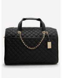 Bebe - Quilted Weekender Bag - Lyst