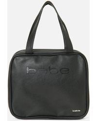 Bebe Black Logo Cosmetic Bag