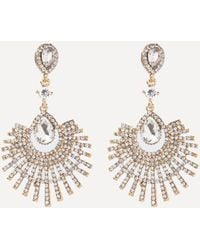 Bebe - Fanned Out Earrings - Lyst