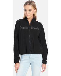 Bebe Polar Fleece Jacket - Black