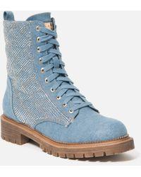 Bebe Dorienne Shoe - Blue