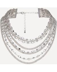 Bebe - Multi-chain Necklace - Lyst