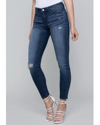 Bebe - Boundless Skinny Jeans - Lyst