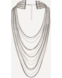 Bebe | Layered Chain Necklace | Lyst